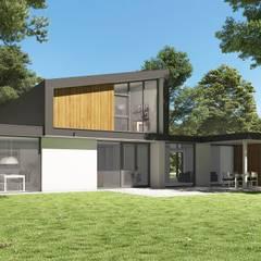 : moderne Huizen door Villa Delphia