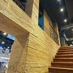 Doğancı Dış Ticaret Ltd. Şti. – Türkiye genelindeki Turkcell mağazalarında yaptığımız beton görünümlü panel uygulamalarımızdan örnek fotolar..:  tarz Ofisler ve Mağazalar