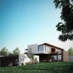 Maisons de style  par BAG arquitectura, Moderne Pierre