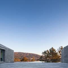 Kolam Renang Modern Oleh Menos é Mais - Arquitectos Associados Modern