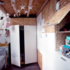 LA CHAMBRE PERCHEE, BORDEAUX: Chambre d'enfant de style  par Audrey Boey