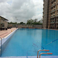 Renovation of Olympic size pool in Koparkhairane, Navi Mumbai:  Schools by RENOLIT SE / WATERPROOFING DIVISION