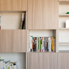 文心加賀:  書房/辦公室 by 思維空間設計