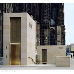 Zugangsgebäude Kölner Dom:  Museen von Steinbruchbetriebe Grandi GmbH
