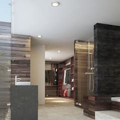 Bathroom by 9.15 arquitectos