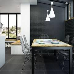 Nuestros revestimientos de cocina: Cocinas de estilo  de Avilcasa materiales de construcción,s.l.