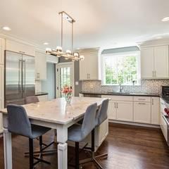Kitchen by Kitchen Krafter Design/Remodel Showroom