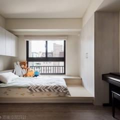 اتاق خواب توسط思維空間設計  , مدرن