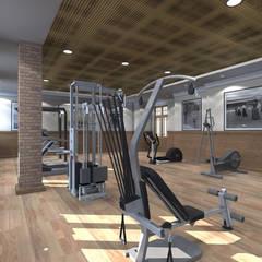 Salle de sport de style  par Сергей Рыбаков