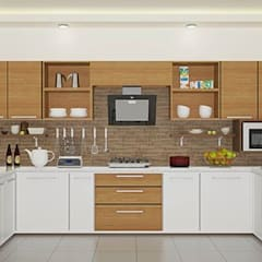 Modular Kitchen Design:  Commercial Spaces by Yagotimber.com