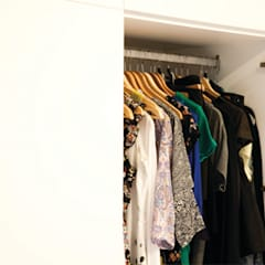 Project 03 - Dressing en bureauruimte op maat: moderne Kleedkamer door ICONcept