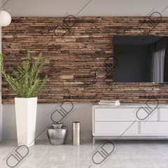 Interior Design and Rendering: minimalistic Living room by Design Studio AiD