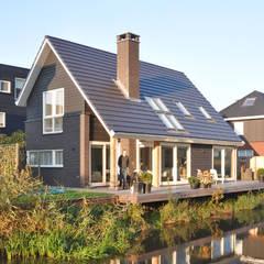 Eigentijdse woning Den-Haag:  Huizen door Bongers Architecten