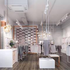 Офисы и магазины в . Автор – Zikzak architects, Модерн