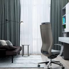 Рабочие кабинеты в . Автор – ZIKZAK architects