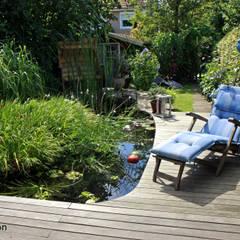 Jardines de estilo  por dirlenbach - garten mit stil, Escandinavo