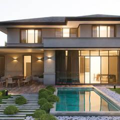 Cottage Concept: Дома в . Автор – ZIKZAK architects