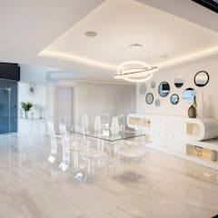 ULTRA MODERN RESIDENCE: modern Dining room by FRANCOIS MARAIS ARCHITECTS