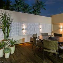Terrace by Cris Nunes Arquiteta