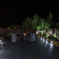 Garden Deck:  Garden by Jane Thomas Landscape & Garden Design