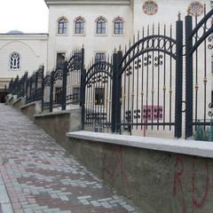 REYTAŞ DEMİR ÇELİK FERFORJE – Duvar Üzeri Merdiven Korkuluğu: asyatik tarz tarz Evler