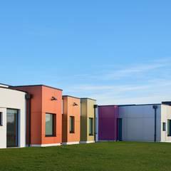 Pôle de santé à Lessay , Manche: Hôpitaux de style  par Camélia Alex-Letenneur Architecture Design Paysage