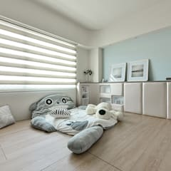 Modern nursery/kids room by 皇室空間室內設計 Modern