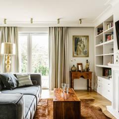 DOM - GDAŃSK OLIWA: styl , w kategorii Salon zaprojektowany przez Anna Serafin Architektura Wnętrz