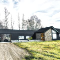 Detached home by NidoSur Arquitectos - Valdivia, Modern
