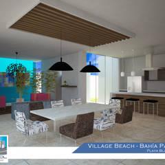 Kitchen by Constructora Asvial - Desarrollador Inmobiliario