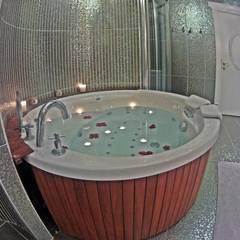 Damla SABUNCU  – Banyo ve Jakuzi: rustik tarz tarz Banyo