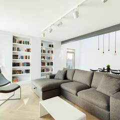 MIESZKANIE DG: styl , w kategorii Salon zaprojektowany przez 081 architekci