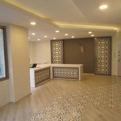 GO Design İç Mimarlık – A.T. Mali Müşavir Ofis:  tarz Duvarlar