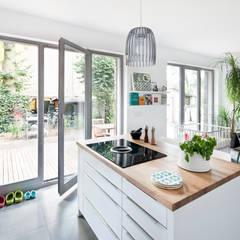 Haus Zehlendorf 2:  Küche von Müllers Büro