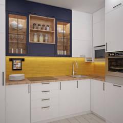 А+Ю: Кухни в . Автор – ЙОХ architects
