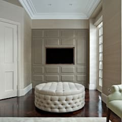 NW11:  Media room by The Wood Works