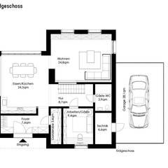 Huizen door Müllers Büro