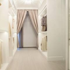 Apartament na Mokotowie: styl , w kategorii Garderoba zaprojektowany przez living box