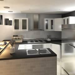 Diseño Urbanizacion Villas María Fernanda: Cocinas de estilo  por Diseño Store