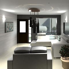 Diseño Urbanizacion Villas María Fernanda: Salas / recibidores de estilo  por Diseño Store