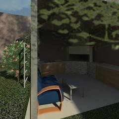 Vivienda Carrasquelitos Balcones y terrazas de estilo tropical de Diseño Store Tropical