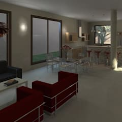 Vivienda Carrasquelitos: Salas / recibidores de estilo  por Diseño Store, Moderno