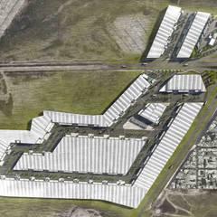 Master Plan: Oficinas y tiendas de estilo  por Segovia ARQ,