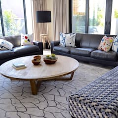 Living room - Steyn City :  Living room by Nowadays Interiors