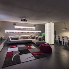 Media room by Elia Falaschi Photographer, Modern
