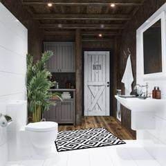 ห้องน้ำ โดย Home in the Woods,