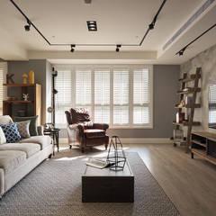غرفة المعيشة تنفيذ 陶璽空間設計