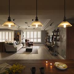 mediterranean Dining room by 陶璽空間設計
