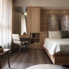 Bedroom by 陶璽空間設計,