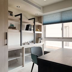 Studeerkamer/kantoor door 陶璽空間設計